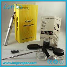 900 mah led battery dry herb vaporizer Deluxe V5 ego dry herb chamber vaporizer Deluxe V5
