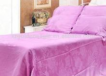 Fashion jacquard king size bamboo bedding sets