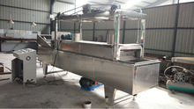 Automatic Stain Steel oil curtain fryer