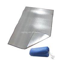Aluminum Film Foam EVA Sleeping Pads Mats, Anti- Moisture Sleeping Pads for 2 Persons