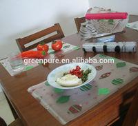 Custom full color printing Beer EVA placemat, EVA table mat, plastic eat mat