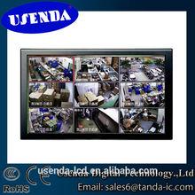 High quality HD1080P HDMI 32 inch lcd cctv monitor with vga dvi bnc input