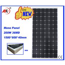 200w mono cheap solar modules