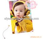 handmade crocheted cute baby girl cloak