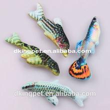 Mini Plush Fish Toys Plush Pet Toys for Dog Cat