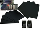 Eco-friendly black card paper/black paper card for making gift boxes