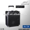 Professionale portatile wireless amplificatore pa-739/mini pa sistema/amplificatore splitter audio