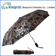 Fashion design durable UV protection 3 fold automatic umbrella