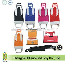 600D Polyester Folding Shopping Trolley Bag/Shopping Trolley/Shopping Cart