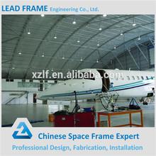 Long Span Steel Frame Hangar Erection