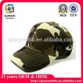 Camo algodón de la muestra de encargo libre gorra de béisbol gorra de ds248