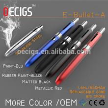 2014 newest vaporizer mod Ebullet e cig e cigarette electronic cigarette wholesale