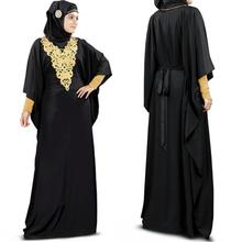 Dubai ery Fancy Kaftan Dress, Abaya Jalabiya Maxi muslim women long dress 2014