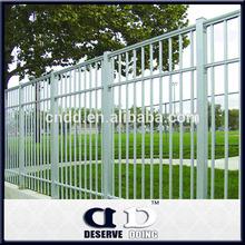 Aluminium picket fence ornamental picket fence