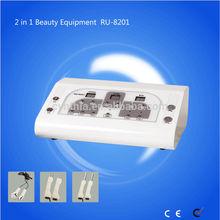 2 in 1 Handy Bio Light Beauty Machine Ultrasonic Facial Machine RU-8201
