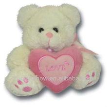 2015 Plush teddy bear with heart