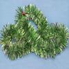 Hot PVC/PET promotional glitter best selling Christmas items decoration plastic flower garland paper garland party decoration