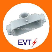 T type EMT conduit fitting Rigid conduit body