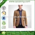 A mais nova moda& antumn para jovens 95% poliéster fino corte fino baratos casual ternos dos homens