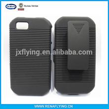 hot selling product China clip combo case for Moto i1x Titanium