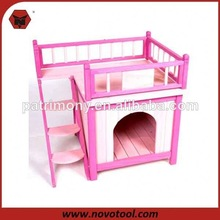 2014 Wooden Dog Kennel with Balcony