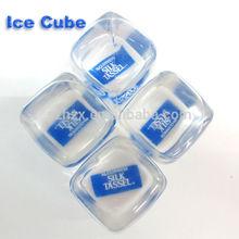 LFGB stone ice cube & plastic reusable ice cube wholesale