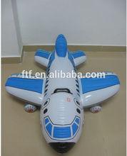 inflatable pvc blue plane model for wholesale/Children's plane toys