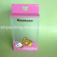 High quality printing clear plastic PP box for baby toys