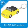 pu sports car stress balls keychains cheap