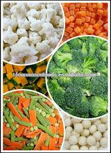 Haccp Deep iqf frozen vegetables Chinese origin Frozen vegetables
