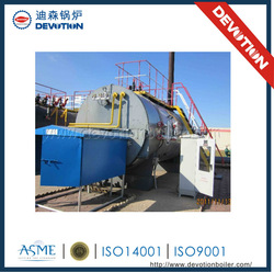 Diesel oil and gas fired thermal oil boiler horizontal