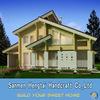 Luxury design wooden villa Prefab log homes prefabricated houses