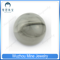 AAA19.5mm wholesale white round cabochon glass gemstone