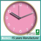 "Digital design 12"" quartz wall watch cheap promotional item for home wooden clocks"