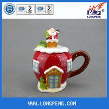 Sale Apple Christmas Teapot Ornaments