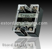 Single phase black shell Solid state relay