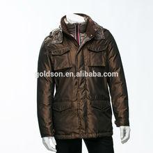 Top rated OEM wholesales goose down winter jacket men parka