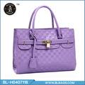 puro colore di alta qualità elegante borse macramè per la signora