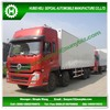 43000L-45000L Dongfeng 8*4 refrigerator freezer truck