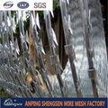 barbelé en accordéon de fabricant pour la barrière avec le certificat ISO9001 par CQC