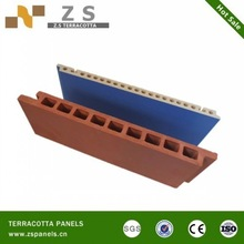 ceramic tile decorative wall panels Terracotta Wall Panel with good pattern shading sliding skirting top manufacturer