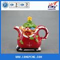 Tetera Navidad cerámica personalizada de oferta