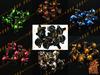 FDB Universal CNC Aluninium 10 Pieces 1Bag M6*20 Fairing Bolts Screws black silver gold orange blue green red