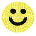 sorriso cara feliz etiqueta de teia de aranha de strass adesivo decalque