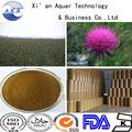 100% natural protetor hepático de leite de cardo extrato silimarina/silybin uv20%- 95% 65666-07-1 cas