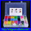 Excellent Quality Loom Band Refill Kits / loom elastic bands rainbow