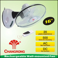 China electric rechargeable ceiling fan remote control