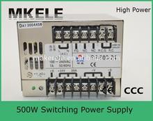 SP-500-24 20a high effiency 220v ac 24v dc switching power supply 24v