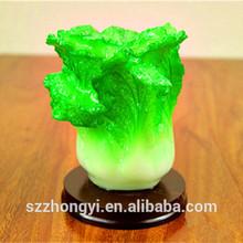 Custom resin imitation jade decorative cabbage table decoration