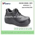de cuero de acero del dedo del pie de la tapa de seguridad zapatos de seguridad industrial y zapatos de trabajo